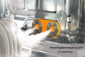 کارکرد ماشین ظرفشویی دارای بخار 1