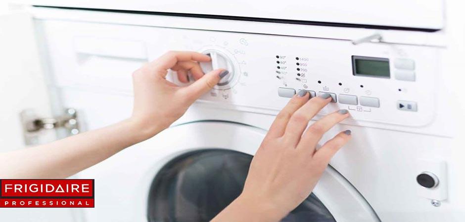تنظیم برنامه های لباسشویی فریجیدر