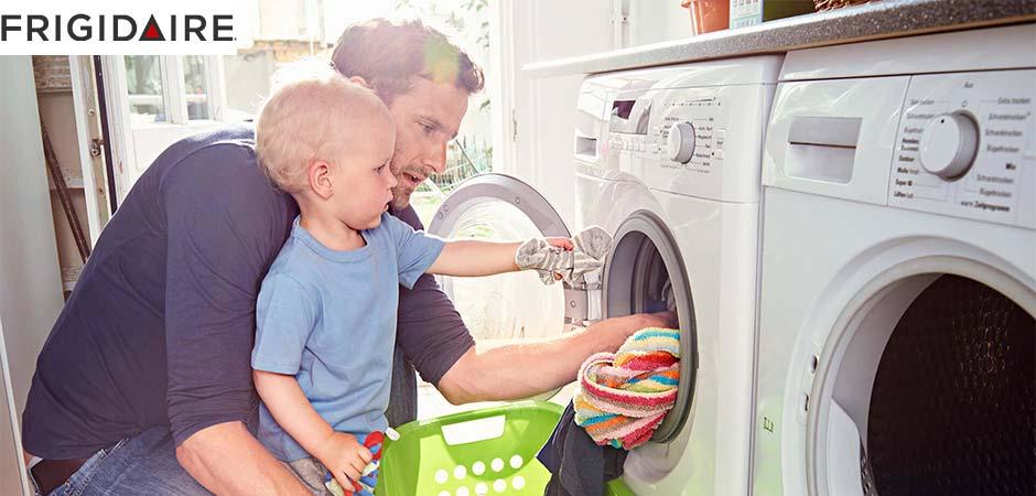 نحوه بازکردن قفل کودک ماشین لباسشویی